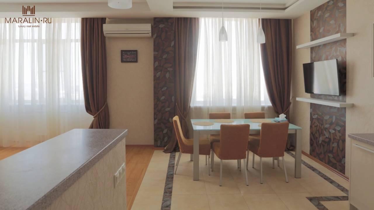 4К Элитная квартира в Ростове-на-Дону в ЖК Усадьба - YouTube