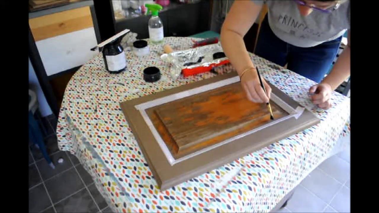Nettoyer Un Vieux Tableau tutoriel : transformer une porte de placard en tableau ardoise !