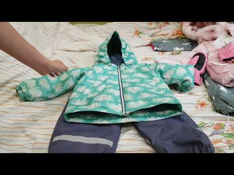 Покупки детской одежды.  Зима. ( Reima, Molo, Chopette, Carter's )