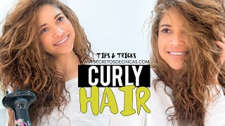 Tips and tricks for curly hair