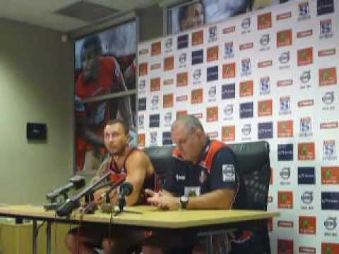 Quade Cooper Return from Injury Press Conference