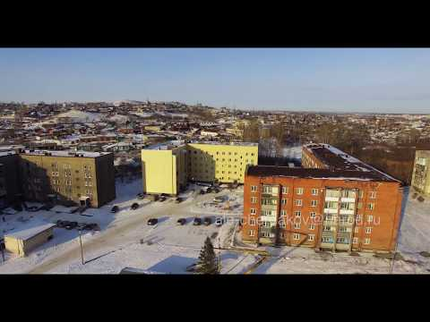 Зимний Гурьевск и Салаир