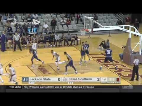 Marvin Jones, Texas Southern University #24 - Offensive Highlights