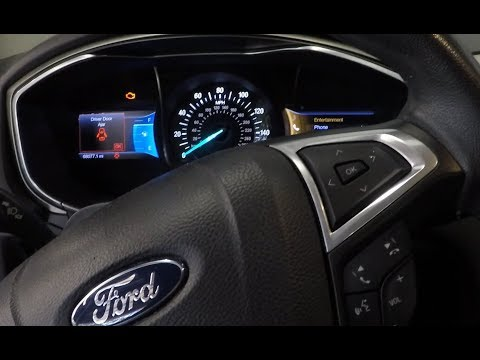 2013 FORD FUSION -  CHECK ENGINE LIGHT ON