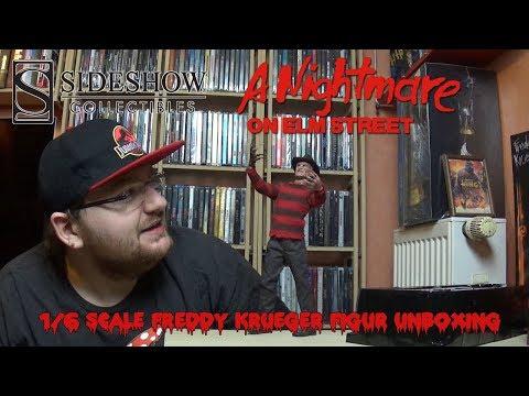 A Nightmare on Elm Street - 1/6 Scale Freddy Krueger - Sideshow Figur Unboxing