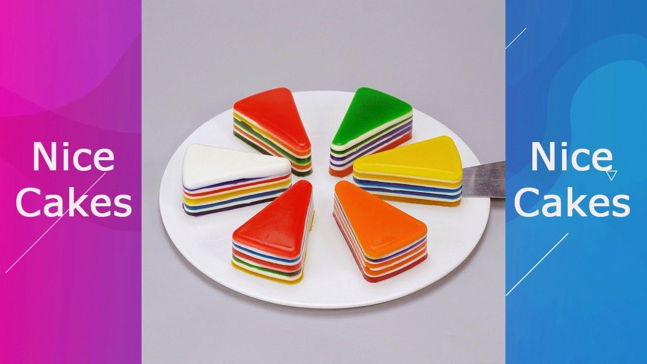 So Yummy Rainbow Jelly Recipe #Yumupcakes