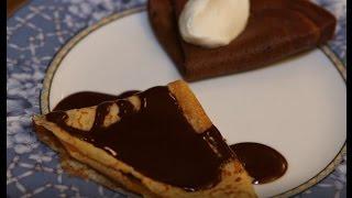 Юлия Высоцкая — Шоколадные блины с шоколадным соусом