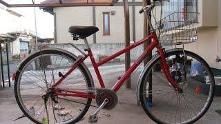 Repeat youtube video ブリヂストンサイクル通学自転車アルベルトのリアタイヤ交換をやってみた♪(BRIDGESTONE Albelt)再UP