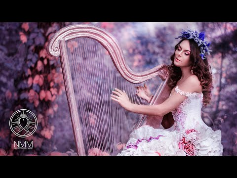 Instrumental Harp Music: relaxing music, meditation music relax mind body, music to relax, 31808H