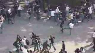 Ninja Flashmob