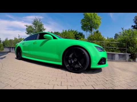 MEIN AUTO IST FERTIG! 705 PS AUDI RS7 2017 | Test 0-100 km/h