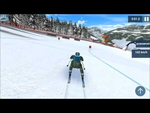 Let's Play Ski Challenge 2016 - Downhill Schladming
