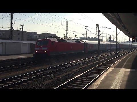 120 149-0 mit EN 452 Transeuropean Express Einfahrt Hannover Hauptbahnhof