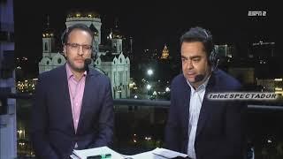 Analisis del BRASIL vs BELGICA - Cuartos Rusia 2018 - Los Capitanes