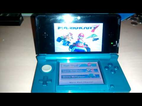 3DS With Autobooting CFW