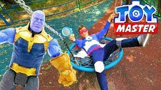 Шоу Той Мастер - Фёдор и Танос на базе Антигероев!