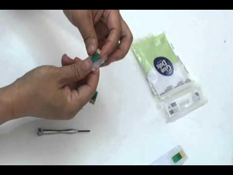 Epson Workforce WF 4630 4640 4530 4020 T676 T786 Refillable Cartridge Chip Replacment