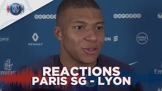 REACTIONS : PARIS SAINT-GERMAIN 5-0 LYON with Mbappé