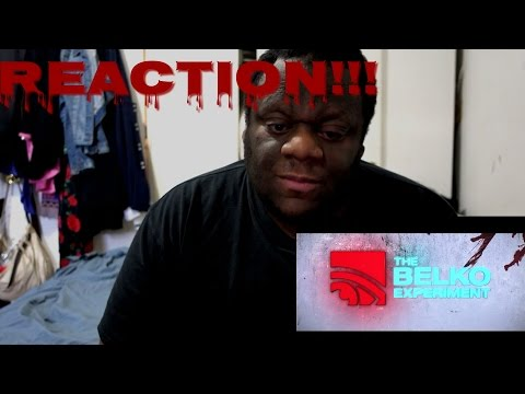 The Belko Experiment Trailer REACTION!!! (Buck's Thoughts)