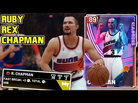 RUBY REX CHAPMAN GAMEPLAY! THE 2K18 GLITCH IS BACK! NBA 2k19 MyTEAM