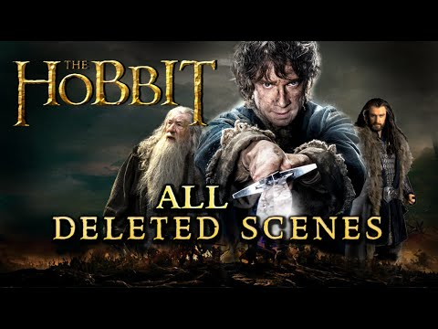 The Hobbit Trilogy - All Deleted Scenes / Unused Footage