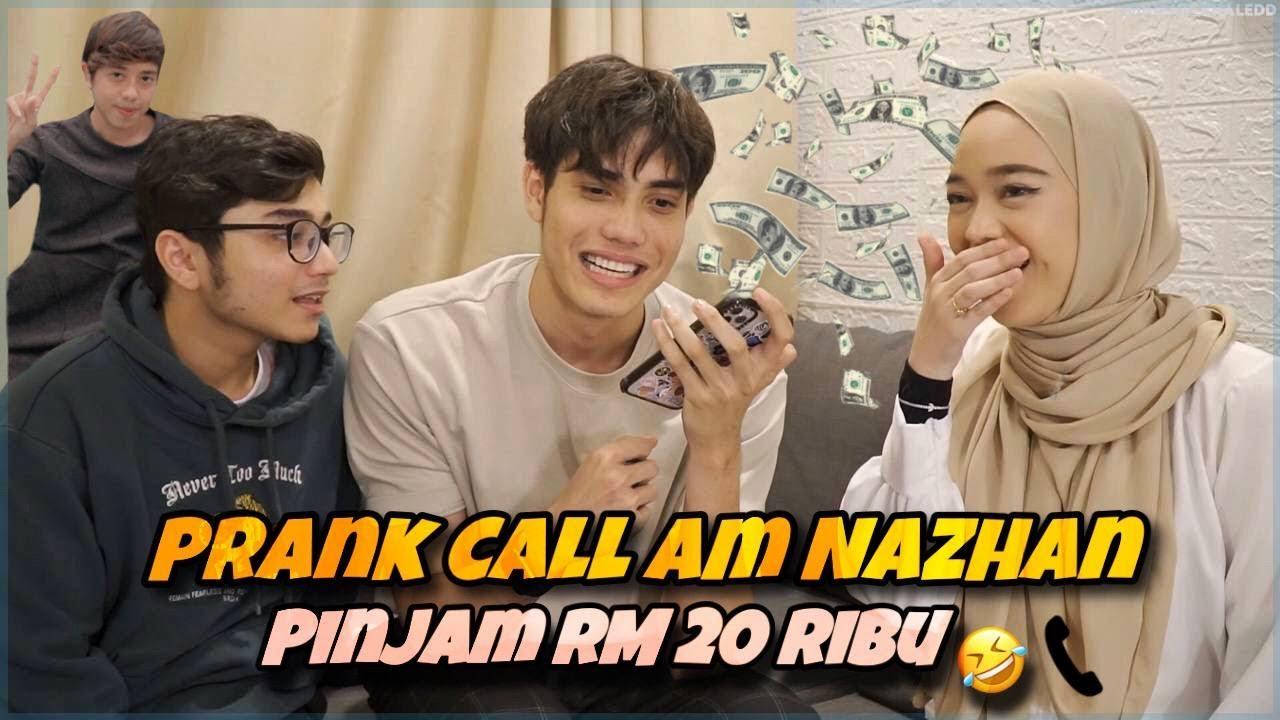 Download PRANK AM NAZHAN PINJAM DUIT 20 RIBU   PALING KELAKAR !!