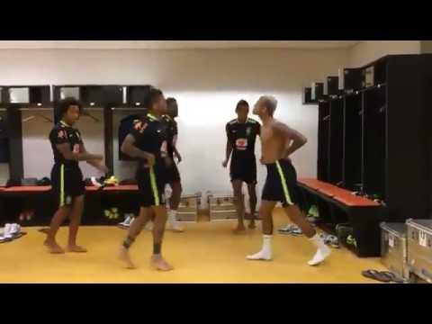 My boo dance - Neymar Jr  Marcelo Dani Alves Mrquinhos Paulinho