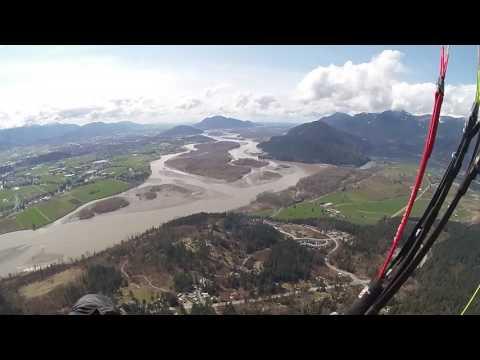 Paragliding - Mount Woodside - Gin Explorer - MOHOC 1080p60 - 2017-04-09