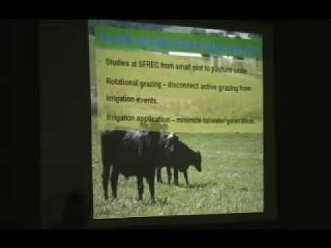 Grazing and Irrigation Management Practices of Improving Pasture and Rangeland