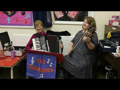 The Harmonics at the Girls Brigade Barn Dance 2018, Zion URC