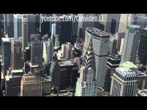 MetLife and Chrysler buildings, NYC - youtube.com/tanvideo11