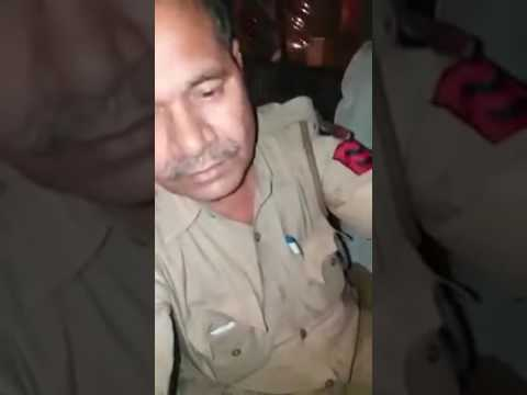 दिल्ली की पुलिस शरब पीके गडी चलती हौ