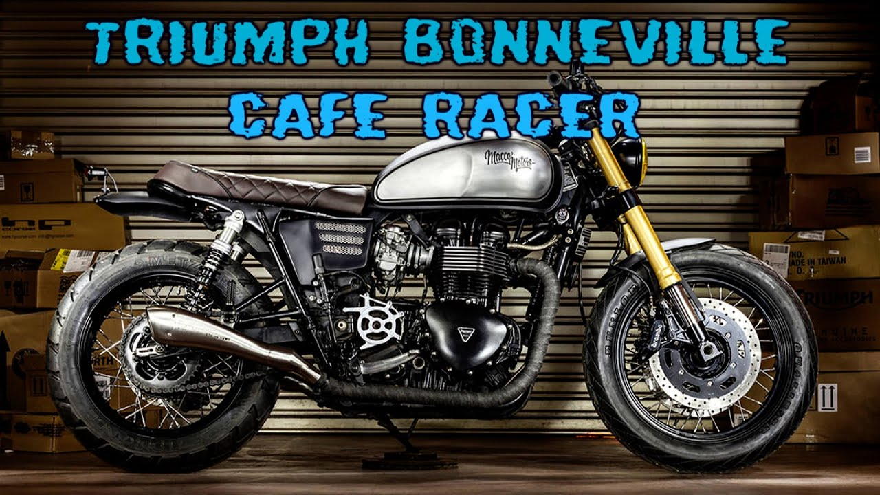 Favori TRIUMPH BONNEVILLE Cafe Racer - YouTube XH33