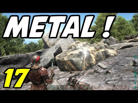 "ARK Survival Evolved - E17 ""Mountain of Metal!"" (Gameplay / Playthrough / 1080p)"