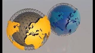 CINEMA 4D TUTORIAL How to make a 3D globe in C4D