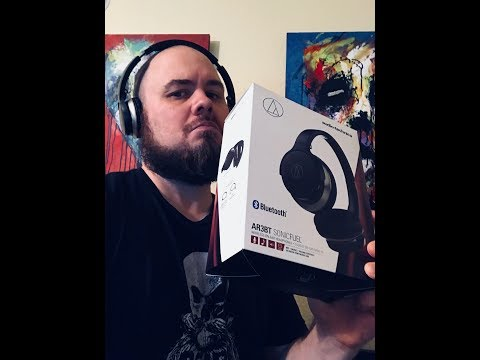 Audio-technica AR3BT SonicFuel - Bluetooth Headset Review -The Best I've Found?!?
