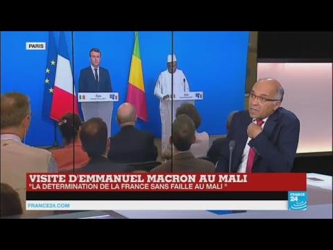 """MALI : """"Le président Macron est dans la continuité de la politique de son prédécesseur"""""""
