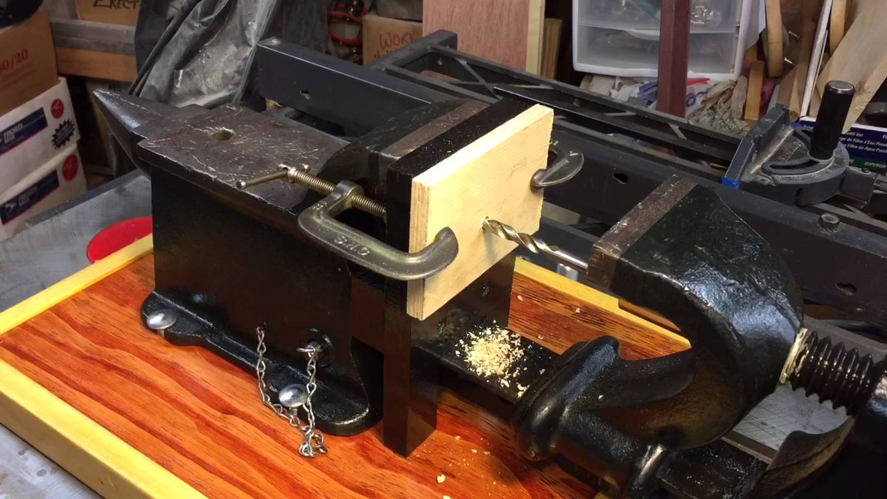 Antique Anvil-Drill-Vise - YouTube