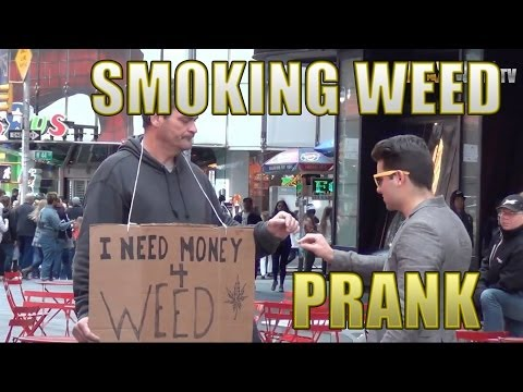 Smoking Weed in Public Prank by Maxmantv