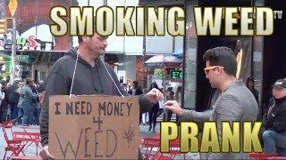 Smoking Weed in Public Prank by Maxmantv