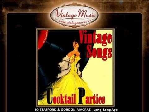 JO STAFFORD & GORDON MACRAE - Long, Long Ago (VintageMusic.es)