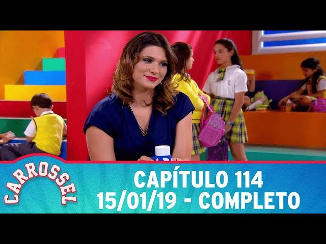 Carrossel | Capítulo 114 - 15/01/19 - completo