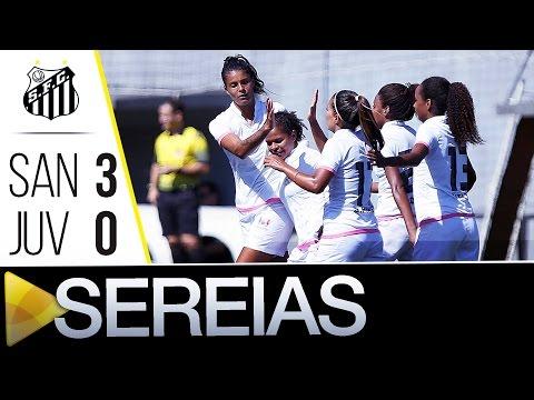 Sereias da Vila 3 x 0 Juventus | Paulista (15/05/16)