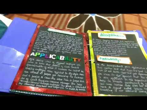 EASY DIY School Project Ideas |Principles of Management|Business studies