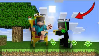 Kaan Style became my slave for 1 day 😱 -Minecraft