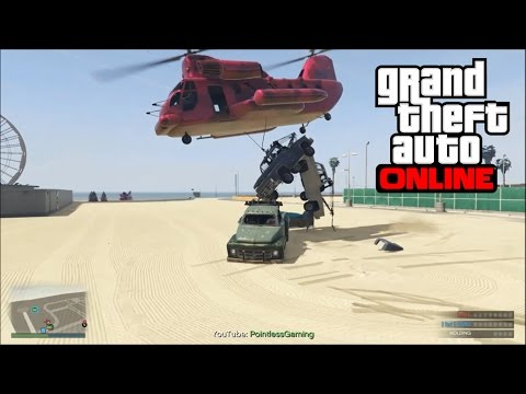 GTA 5 PS4 ONLINE - Modded Mission, Tow...