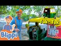 Blippi Travels To India! Learning Vehicles With Blippi | Educationals For Kids