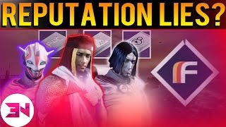 Destiny - Faction Reputation Buff - We Were Lied To ?
