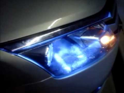 2010 Ford Fusion 10000K HID Lights  YouTube