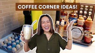 Coffee Corner At H๐me (Easy DIY Coffee Area)   Laureen